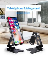 Cell Phone Mounts & Holders Mobile Stand Flat Desktop Live Broadcast Lazy Universal Easy To Carry Aluminum Material