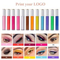 50pcs Print Your LOGO Colord Eyeliner Color Delineadores De ...
