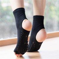 Spor Çorap Kadın Yoga Kaymaz Hızlı Kuru Sönümleme Pilates Balesi Beş Parmaklar için İyi Kavrama Fitness Pamuk