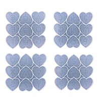 Craft Tools Love Heart-shaped Letter Silicone Mold Diy Mobile Phone Keychain Mirror Creative Pendant Handmade Crystal Epoxy Drop Ship