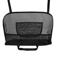 Organizador de automóviles Aozbz Asiento trasero Doble Lado Neto Pocket Holder Holder Backseat Backseat Bag para el almacenamiento de bolso POCKE