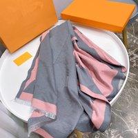 Bandeau foulard pour femme Mode avec lettre classique Châle longue Écharpes de haute qualité châles de haute qualité 4 couleurs 180 * 70cm