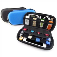 Wallets Portable USB Flash Cable Earphone Storage Bag Drive Pen Carrying Travel Shockproof Organizer Case Pouch Carteira