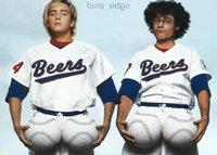 2021 caliente The Baseketball Beers Película # 17 Doug Reme # 44 Joe Coop Cooper Baseketball Blanco Botón Botón de béisbol 8884