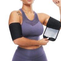 Women's Shapers Sweat Arm Bands Trimmer For Women & Men Sauna Slimmer Shaper Compression Sleeves Wraps Lose Fat Burner Workout Belt Unisex