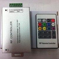Accesorios de iluminación RGB Controler RF Wireless Remote 20 Teclas 12-24V 3 canales Controlador LED para dimmers de luz
