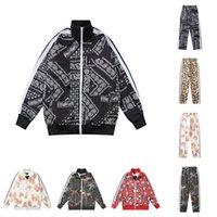 21SS Mens Womens Designers Cousssuit Angels Fullshirts Source 2021 Мужчины треки потного костюма Пальто брюки спортивные куртки Пальмовая толстовка Sportswears