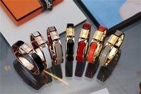 Bangle Jewelry Senhoras H Clic Bloqueio Bracelete Presente Presente de Lembrança para Pais de Casal