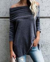 Женские блузки Рубашки Ninimour 2021 Женщины Элегантная Стильная Ручковатая Слома повседневная Блуза Дамы Скиньте На Плевые Топы Рабочая одежда Твердый