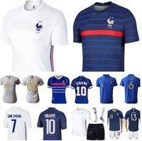 2021Men Women Kids France Jersey Soccer LE SOMMER HENRY KYLIAN MBAPPE ANTOINE GRIEZMANN PAUL POGBA GIROUD ZIDANE KANTE LLORIS Football Kits Jerseys