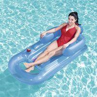 Flutuadores infláveis Tubos PVC Piscina Piscina Água de praia Hammock Flutuante Coxim Almofada de Verão Ar Lounger Cadeira para Festa
