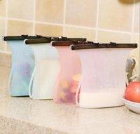 Repair Tools & Kits Silicone Food Storage Bags Reusable Ziplock Bag Leakproof Containers Refrigerator Fresh Vegetable Fruit Liquid Snack