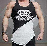Palestre Brand Vestiti da ginnastica Gyms Engineers Singlets Gleys Gyms Gyms Casual Body Fitness Uomo Bodybuilding Canottiere di cotone allentato