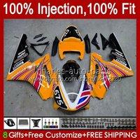 OEM-Spritzgussform für Triumph Daytona 675 R 675R 2002 2003 2004 2005 06 07 08 Körper 106HC.126 Daytona 675 Orange Light Daytona675 02 03 04 05 2006 2007 2008 volle Verkleidung