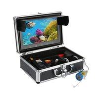 Fischfinder 10-Zoll-Zoll-Farbmonitor 720P 20m 30m 1000tvl Unterwasser-Angeln-Videokatamer Kit, HD Wifi Wireless für Android Appsup