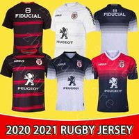 New Stade TououNain 2020 2021 Erwachsene Super Rugby Jersey Le Stade Shirt Toulouse MAILLOT CAMISETA MAGIA TOPS S-5XL Trikot Camisas