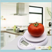 Home Garden Sundries Portable Digital Postal Food Balance Measuring Weight Kitchen Jewelry With Box Vf7Lr