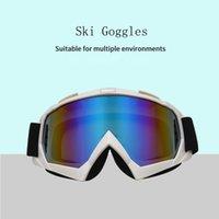 نظارات التزلج نظارات الشتاء دراجة نارية الثلج الرياضة عبر البلاد ناجحة النظارات الشمسية مكافحة الضباب الأشعة فوق البنفسجية الرجال عدسة القابلة للتبديل نظارات