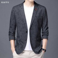 Designer 2021 autumn and winter new high-end custom wool fabric men's casual suit jacket men's suit fashion jacket 0922-02