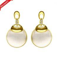 ENALI's أزياء الأزياء الأنيقة الأزياء قطرة الذهب PE1020-A LKN18KRGPE1020
