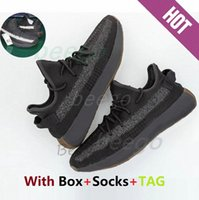 yeezy yeezys yezzy yezzys yzy boost 350 sply  [Gift:Sock+Keychain+tag] Kanye West V2 Running Shoes yecher Ash Stone Clear Earth sage Carbon Women's Shoe 36 - 47