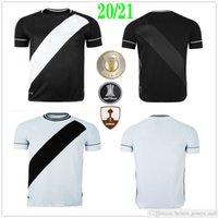 2020 2021 Club Vasco da Casa Away Gama Futebol Jerseys Maxi Rios Paulinho Fabiano Muriq Custom 20 21 Home Away Black White Football Camisa