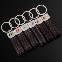m Three Color Sports Audi Sline Rs Volkswagen r Mercedes Benz Amg Car Key Ring Pendant