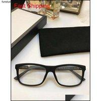 Nova Melhor Venda de Vidros Óculos Ópticos Quadrado Quadrado Simples Generoso Estilo Casual Run Qyltmf BDefashion