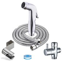Bidet Water Sprayer Products Wall Mixer Bathroom Faucets Kit Hygienic Vrush Toilet Douche Cleaning Anal Shower Head for Anus H0911