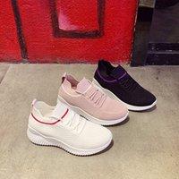 Zapatos deportivos mujeres zapatillas transpirables zapatos blancos negros para la cesta femme mujer ultraligero mujer vulcanize pareja zapatilla informal