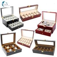 Watch boxen cases fxm luxus holz storag 2/3/5/6/10/12/20 atschuen display box schmuck case organizer halter förderung