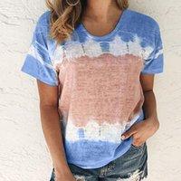Women's T-Shirt Short Sleeve Casual Women O-neck Loose T-shirts Summer Ladies Printed Plus Size Tees Tops Streetwear