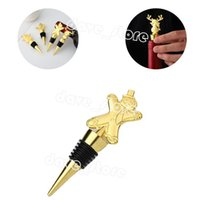 Christmas Wine Stoppers Home Kitchen Bar Tool Cartoon Elk Party Decoration Creative Bottle Stopper