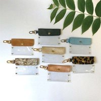 Pvc Portable Face Leopard Bag  Contamination-free Masking Storage Dust-proof   Water-proof