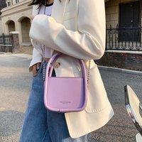 Evening Bags Lady Female Luxury Chain Handbags And Purses 2021 Trendy Mini PU Leather Crossbody Shoulder Totes For Women