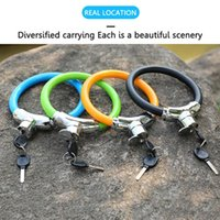 Bike Locks Lock Anti-theft Cable Cycling Portable Mtb Road Mini Safety Accessories Equipment
