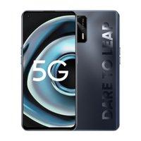 "Original Realme Q3 PRO 5G Mobiltelefon 6 GB RAM 128 GB ROM MTK Dimension 1100 64MP AI Android 6.43 ""Am gelöster Vollbild-Fingerabdruck-ID FACE 4500MAH Smart Handy"