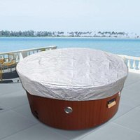 Pool & Accessories Outdoor Bathtub Cover Spa Tub Weather Covers Shade Bath Rain Dust Protector UV Proof Waterproof 6 Sizes