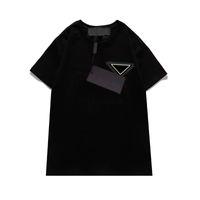 편지가있는 여성 T 셔츠 짧은 소매 패션 유니섹스 티셔츠 여름 셔츠 셔츠 셔츠 S-2XL