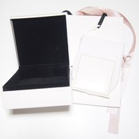 Todas las joyas Paquete Estilo Pulsera Charm Box Bolsa de Papel Bolsa Pelaje de pulido Ajuste para Pandora European Bead Collar Pendientes Anillo Bangle Empaquetado