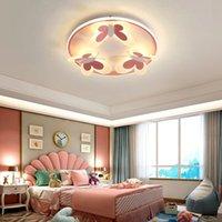 LED Modern Tavan Işıkları Çocuk Odası Yatak Odası Galerisi için Anaokulu Oturma Odası Villa Kapalı Ev Aydınlatma Zarif Fikstür R240