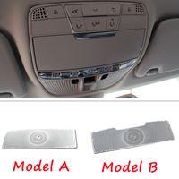 Car Reading Lamp Light Trim Decoration Cover Fit For Mercedes Benz C E class GLC X205 C180L C200L Auto Interior Accessiores