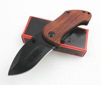 Alta qualità DA33 Piccolo coltello pieghevole di sopravvivenza 440C Blade Blade Blade Blade Blade + Maniglia in acciaio con clip posteriore Strumenti per escursioni Coltelli