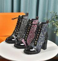 Laureate Designer Boots Platformu Çöl Ayakkabı Tıknaz Topuk Martin Boot Dünya Turu Çöller Ayakkabı Uzay Gemisi Ayak Bileği Flamingolar Kutu Botları