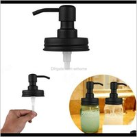 Aessories Bath Home & Gardenblack Mason Soap Dispenser Lids Rust Proof 304 Stainless Steel Liquid Small Head Lotion Pump For Kitchen And Bath