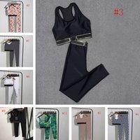 Mode Womens Maillots de bain Vest Pant Set Accueil Porter Autres textiles Sexy Fitny Vêtements Vêtements de yoga Tenues de yoga