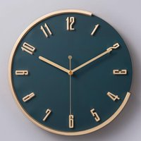 Luxury Living Room Wall Clock Art Creative Home Simple Nordic Modern Design Watch Decorations For W6C Clocks