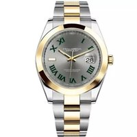 41mm Stainless Steel Solid Clasp Automatic movement 2813 Mechanical Watch Men Big Date President Desinger Mens Watches