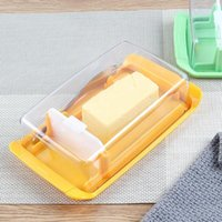 Storage Bottles & Jars 4-in-1 Butter Dish Set With Cover Cutter Cheese Box Baking Tools Large Capacity For