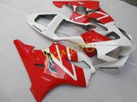 RED HONDA CBR600F4I CBR600 F4I 2001 2002 2003 fairings kits injection motorcycle parts cowling CBR 600F4I 2001-2002-2003 01 02 03 bodykits bodywork #A41QP